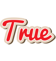 True chocolate logo