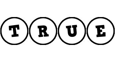 True handy logo
