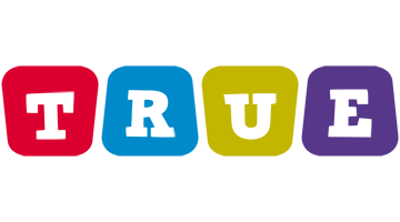 True kiddo logo