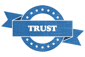 TRUST logo effect. Colorful text effects in various flavors. Customize your own text here: https://www.textGiraffe.com/logos/trust/