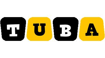 Tuba boots logo