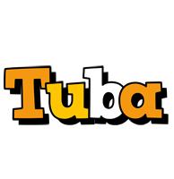 Tuba cartoon logo