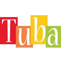 Tuba colors logo