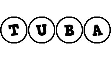 Tuba handy logo