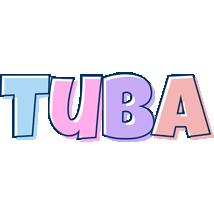 Tuba pastel logo