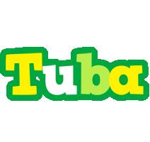 Tuba soccer logo