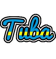 Tuba sweden logo