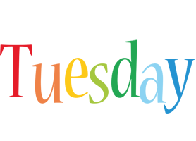Tuesday birthday logo