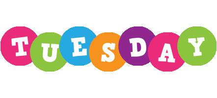 Tuesday friends logo