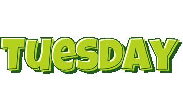 Tuesday summer logo