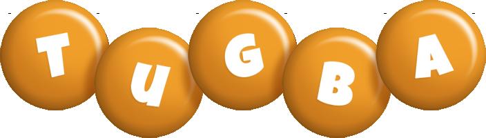 Tugba candy-orange logo
