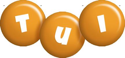 Tui candy-orange logo