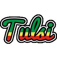 Tulsi african logo