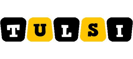 Tulsi boots logo