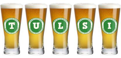 Tulsi lager logo