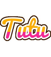 Tutu smoothie logo