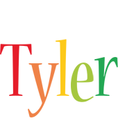 Tyler birthday logo