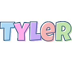 Tyler pastel logo