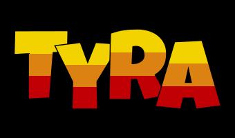 Tyra jungle logo