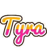 Tyra Logo | Name Logo Generator - Smoothie, Summer ...