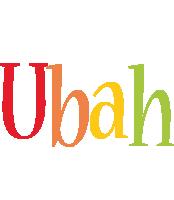 Ubah birthday logo