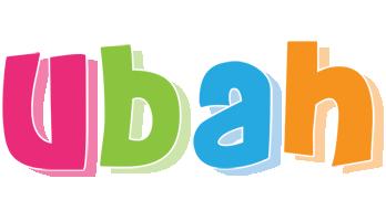 Ubah friday logo