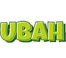 Ubah summer logo