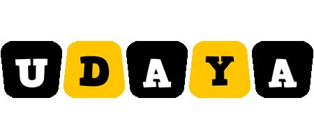 Udaya boots logo