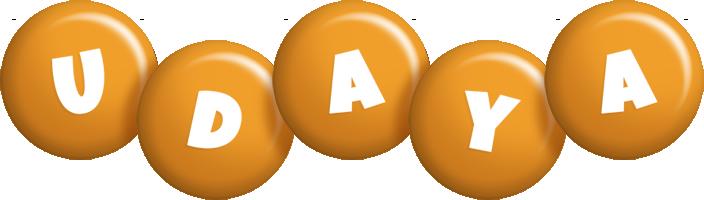 Udaya candy-orange logo