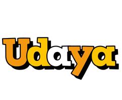 Udaya cartoon logo