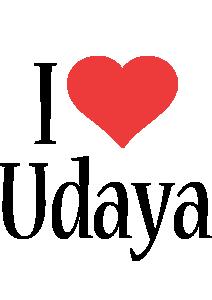 Udaya i-love logo