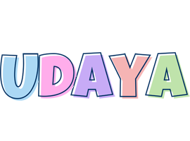 Udaya pastel logo