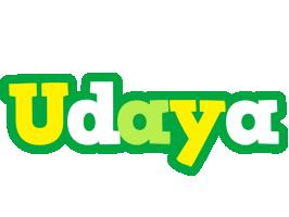 Udaya soccer logo