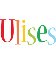 Ulises birthday logo