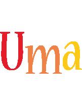 Uma birthday logo