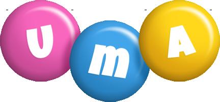 Uma candy logo