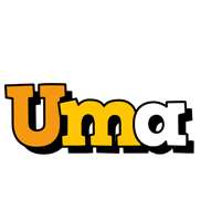 Uma cartoon logo