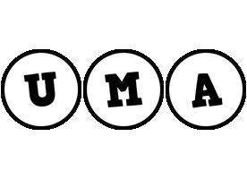 Uma handy logo