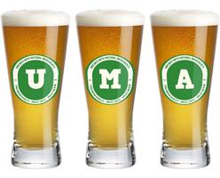 Uma lager logo