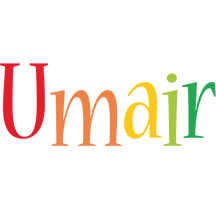 Umair birthday logo