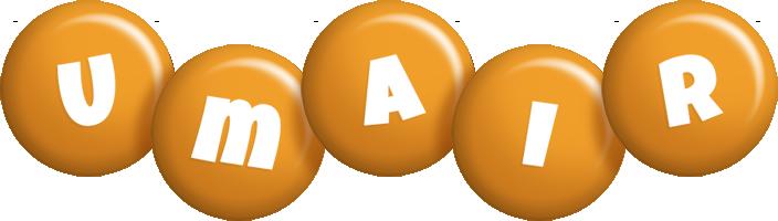 Umair candy-orange logo