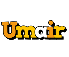Umair cartoon logo