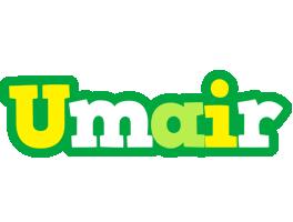 Umair soccer logo