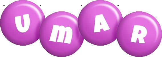 Umar candy-purple logo