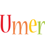 Umer birthday logo