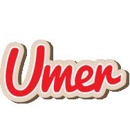 Umer chocolate logo