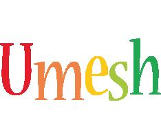 Umesh birthday logo