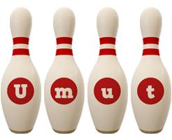 Umut bowling-pin logo