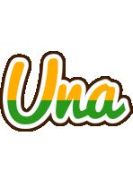 Una banana logo