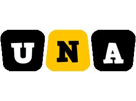 Una boots logo